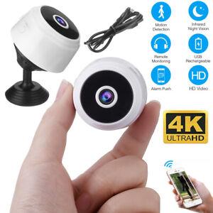 Mini Wireless Hidden Spy Camera Wifi IP Home Security DVR Night Vision HD 1080P