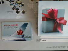 Air Canada Gift Card - $500 CAD Physical Card - Mail delivery