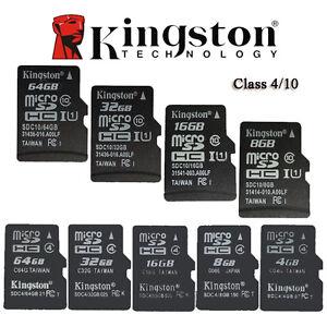 Original Kingston MicroSD 64GB 32GB 16GB 8GB 4GB TF Memory Card Phone whlesale M
