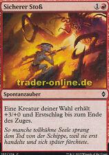 4x Sicherer Stoß (Sure Strike) Battle for Zendikar Magic