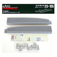 Kato 23-105 N Scale Island Platform End #4 (w pc. set) UniTrack
