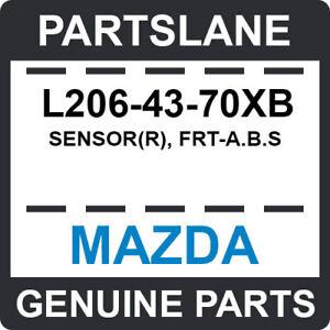 L206-43-70XB Mazda OEM Genuine SENSOR(R), FRT-A.B.S