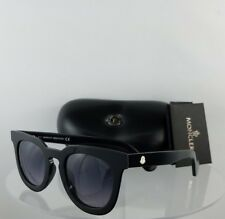 9b270a1e7d Brand New Authentic Moncler Sunglasses ML 0008 01B Black 48mm Frame