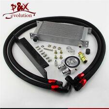 Fit Nissan Fairlady Z 350Z Z33 370Z Z34 16 Row Bolt On Oil Cooler Kit