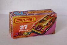 Repro Box Matchbox Superfast Nr.27 Lamborghini Streaker