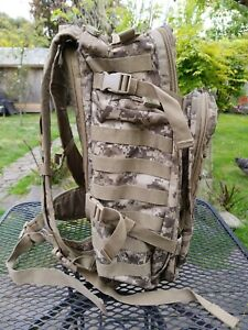 SOG Digital Camouflage Tactical Back Pack Many Pockets Military Heavy Backpack