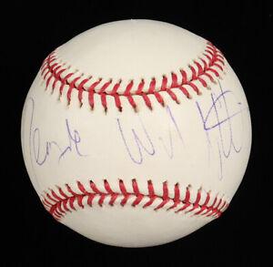 Denzel Washington Signed OML Baseball (PSA COA)