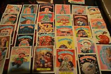 HUGE 1985 1886 1987 Garbage Pail Kids 135 Card Lot GREAT CARDS! Vintage