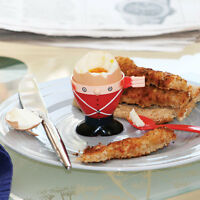 Soldier Egg Cup, Spoon and Toast Cutter