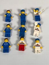 LEGO Classic Town Airport minifigures Pilots, Ground Crew, Airplane Vintage