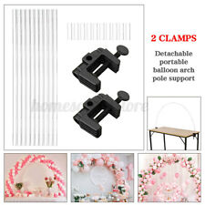 Table Balloon Arch Stand Kit Adjustable Tabletop Diy Wedding Birthday Decor