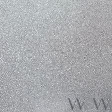 LUXE Purpurina Papel pintado PLATA - mundo de papel pintado wwc012