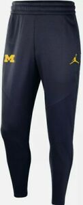 RARE Nike Air Jordan Michigan Wolverines Therma Joggers Sweatpants Size 2XL Tall