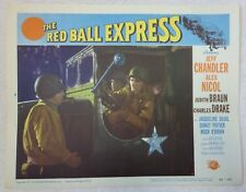 THE RED BALL EXPRESS 1952 Vintage MOVIE LOBBY CARD POSTER WW2 FILM Original