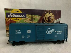 Athearn #5045 HO Scale Mountain Pacific 40' Single Door Boxcar #120170 with KDs