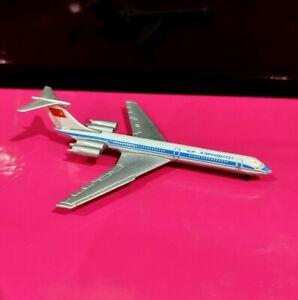 Schabak 952/139 1:600 scl Aeroflot Ilyushin IL-62 model air plane flugzeug avion