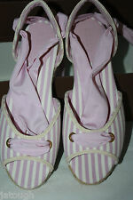 Bally ~ ODEMI ~ espadrilles sandals BNWT boxed pink UK 7 Eur 41 USA 10.5M