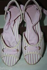 Bally ~ ODEMI ~ espadrilles sandals BNWT boxed pink UK 7 Eur 41 USA 10.5M