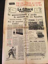 Canard enchaîné n°2481 - 8 mai 1968
