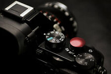 Lolumina 13mm Diameter Red Soft Shutter Release Button for Fujifilm X-T1