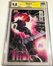 CGC 9.8 SS Mighty Thor #4 Variant signed by Hughes, Aaron & Wilson Avengers