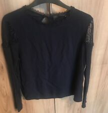 M&S Collection Ladies Navy Blouse Size 12