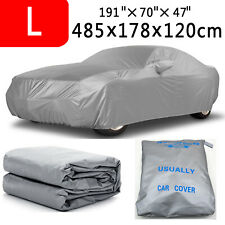 L Full Car Cover Waterproof Sun UV Snow Dust Rain Protection For Honda Accord