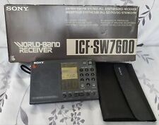 Sony Icf-Sw7600 World Radio Receiver with Ssb Reception - Made in Japan