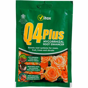 Rootgrow Mycorrhizal Fungi Root Vitax Q4 Plus 60g Plant Tree Feed Food Organic