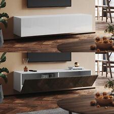 TV Schrank Spanplatte Lowboard Fernsehtisch Fernsehschrank Sideboard Hochglanz