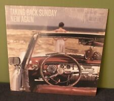 "Taking Back Sunday ""New Again"" LP OOP Sealed Brand New Blink 182"