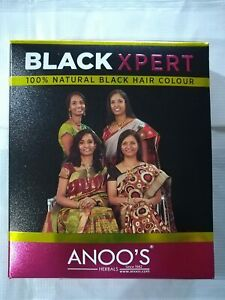 Anoos Black Expert For Natural Black Hair Chemical Free 100gm