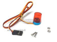 LAMPEGGIANTE LED ROSSO EFFETTO ROTAZIONE ATT. FUTABA VRX T986R X 1-8 1-10 1-16