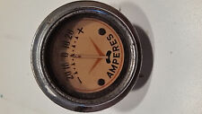 Antique Amperes Automoblie Gauge