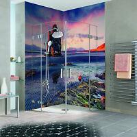 3D Lake Mountain 123 WallPaper Bathroom Print Decal Wall Deco AJ WALLPAPER CA