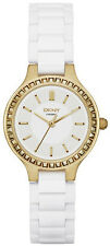 DKNY NY2250 Chambers White Dial White Ceramic Women's Watch
