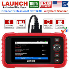 LAUNCH CRP123X PRO Car OBD2 Scanner Code Reader Auto Engine ABS SRS Transmission