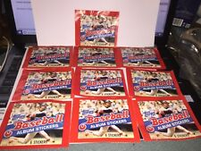 Topps 6 Stickers Baseball 1983 Sealed in Package Set of 10 (60)