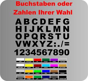 Selbstklebende Zahlen Buchstaben Aufkleber Briefkasten Hausnummer Mülleimer A