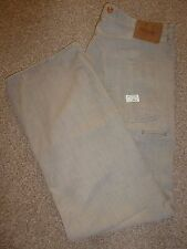 MENS PAUL SMITH PSJ BEIGE STRAIGHT LEG SUMMER DENIM JEANS CHINOS WAIST 34 LEG 32