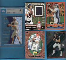 PEYTON MANNING BGS MINT 9 EX ROOKIE + BRONCOS JERSEY #d9/10+ WES WELKER RC B$200