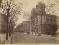 Nice Costa Azzurra, Eglise Notre Dame, Foto Giletta Vintage Albumina, Ca 1875