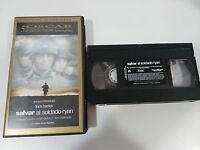 Retten Al Soldat Ryan VHS Sammler Ausgabe Spanisch Steven Spielberg