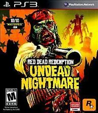 Red Dead Redemption: Undead Nightmare (Sony PlayStation 3, 2010) Complete