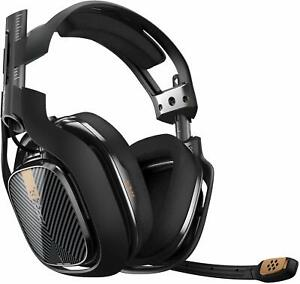 ASTRO Gaming A40 PC Mac Black TR Omni-Directional Microphone Open-Back Headset