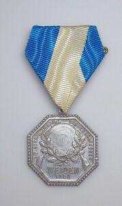 1922 Weimar Germany - Weiden in der Oberpfalz Shooting Medal.