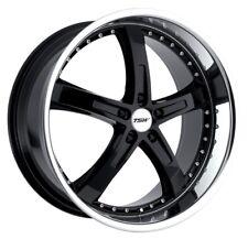 17x8 TSW Jarama 5x110 Rims +40 Black Wheels (Set of 4)