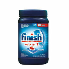 Finish Max in One Advanced Dishwasher Detergent Powerball Tabs(117 ct.)