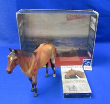 Breyer 1134 Comanche Model Horse Toy Horses in American History 2001 w/Box & VHS