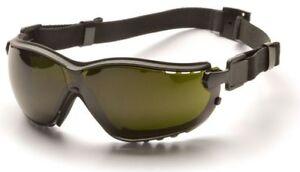 Pyramex V2G Safety Glasses/Goggle Foam Gasket Shade 5  Anti-Fog Lens